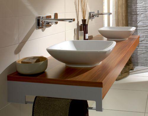 现代极简风格卫生间台上盆洗手台