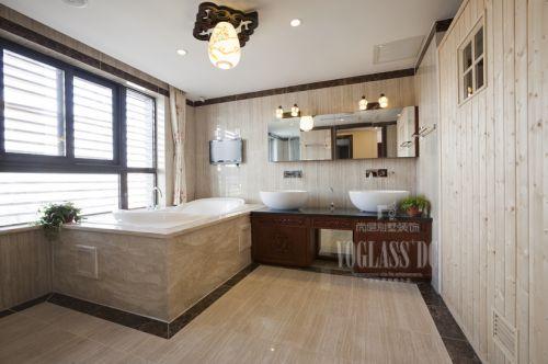 现代简约别墅卫生间装修图片欣赏