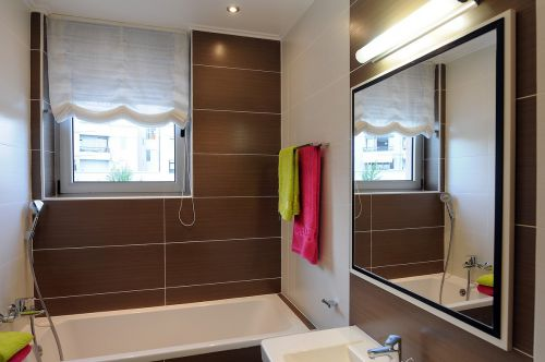 雅致纯净现代风格卫生间装修实景图