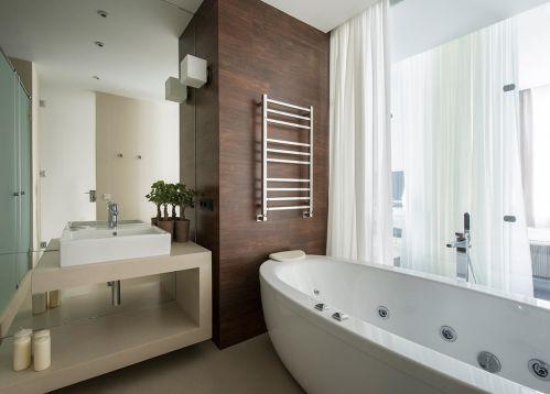 家装现代风格卫生间装修实景图