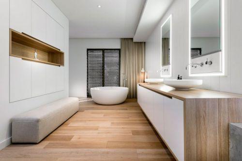 简洁优雅现代风格卫生间装修图片