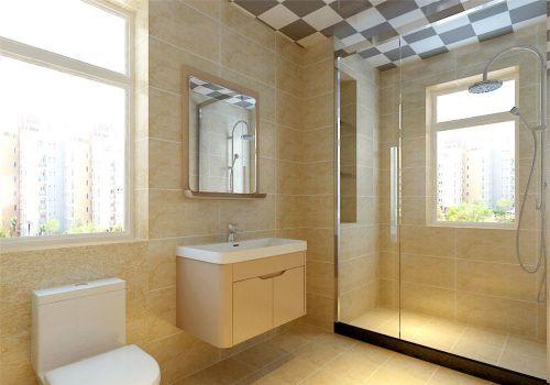 现代风格卫生间淋浴间设计装修效果图