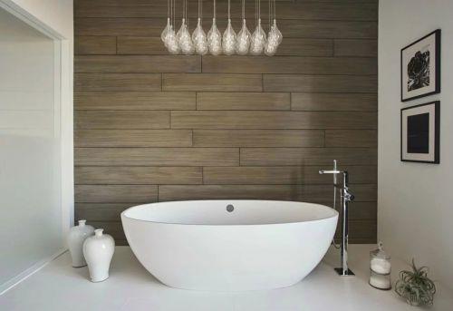 家装现代简约风格卫生间浴缸装修设计