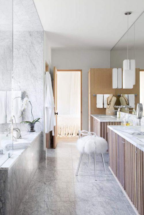 精致优雅现代风格卫生间装修设计图