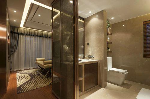 现代简约二居室卫生间装修图片