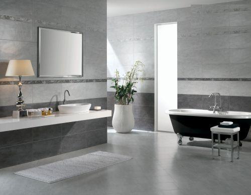 现代简约三居室卫生间装修效果图欣赏
