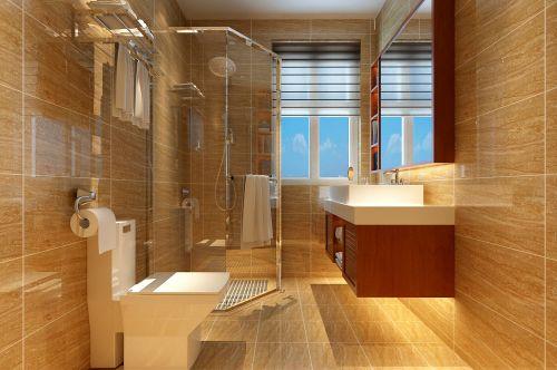 现代简约别墅卫生间灯具装修效果图欣赏