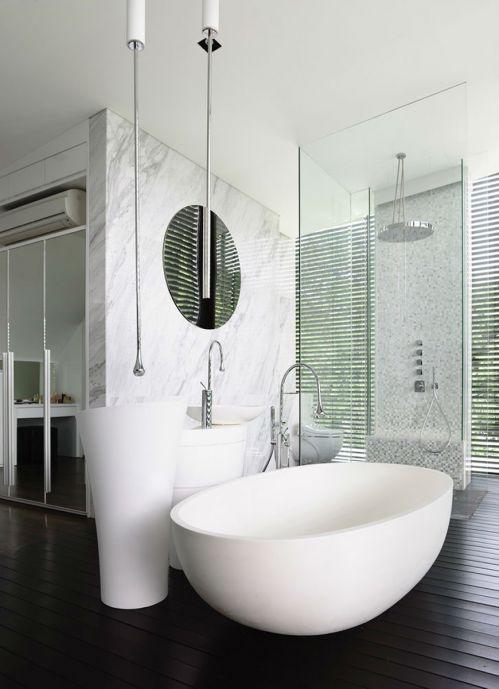 现代简约五居室卫生间梳妆台灯具装修效果图大全
