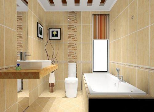 现代简约二居室卫生间吧台装修效果图大全