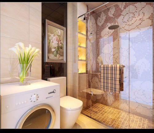 现代简约四居室卫生间装修效果图欣赏