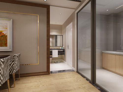 现代简约二居室卫生间瓷砖装修效果图欣赏