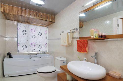 现代简约二居室卫生间装修图片欣赏