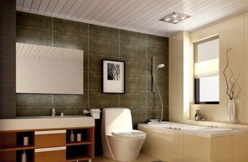 现代简约四居室卫生间装修图片