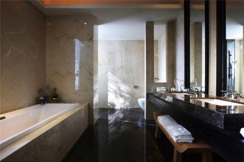现代简约五居室卫生间灯具装修效果图大全