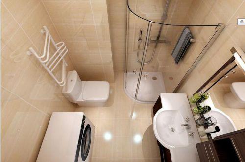现代简约二居室卫生间吊顶装修效果图大全