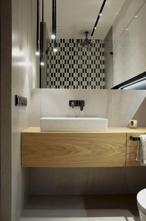 清爽洁净现代风格卫生间装修设计