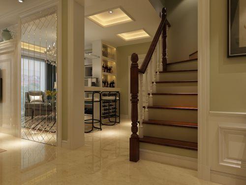 现代简约五居室玄关走廊装修效果图