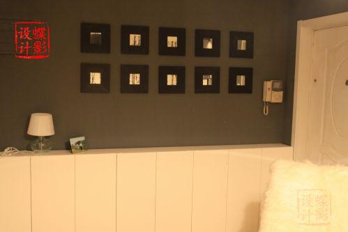 现代简约一居室玄关走廊装修效果图欣赏