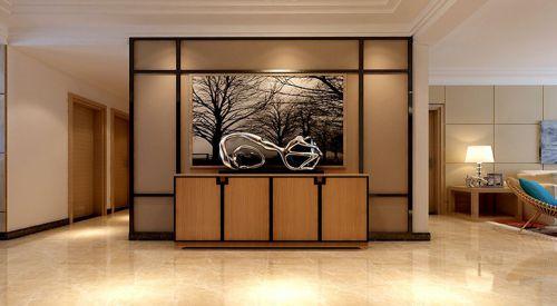 现代简约四居室玄关走廊装修效果图大全