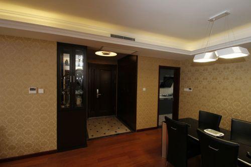 现代简约二居室玄关吊顶装修效果图欣赏