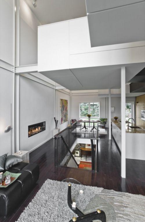 现代简约五居室玄关装修效果图