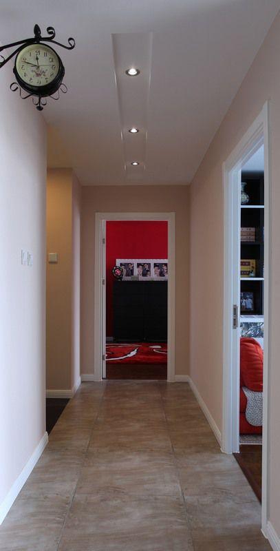 现代简约二居室玄关装修图片欣赏