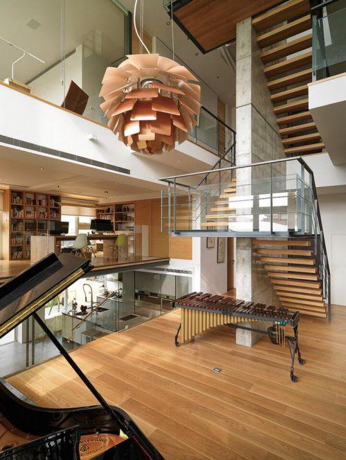 现代简约四居室玄关隔断装修效果图欣赏