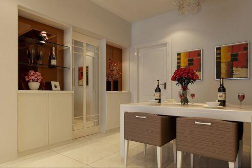 现代简约三居室玄关储物柜装修效果图大全