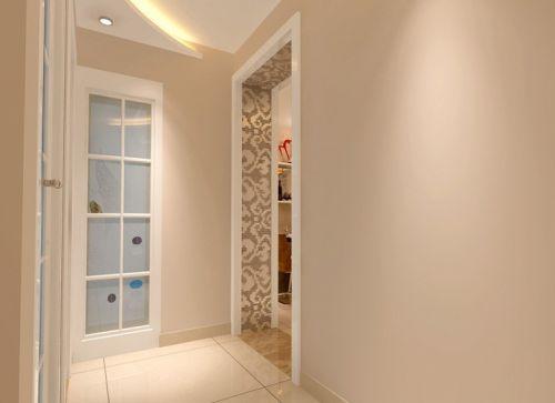 现代简约一居室玄关灯具装修图片