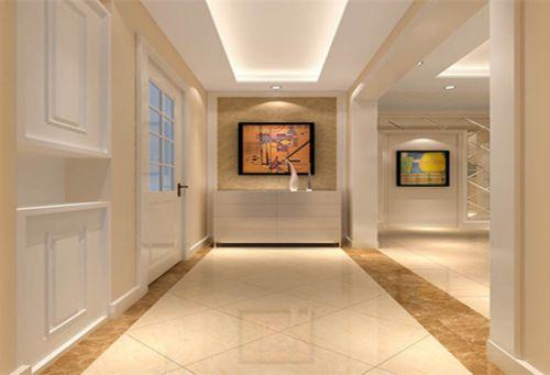 现代简约二居室玄关走廊装修图片