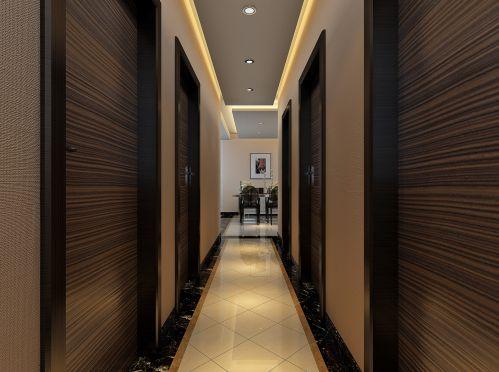 现代简约四居室玄关楼梯装修效果图欣赏