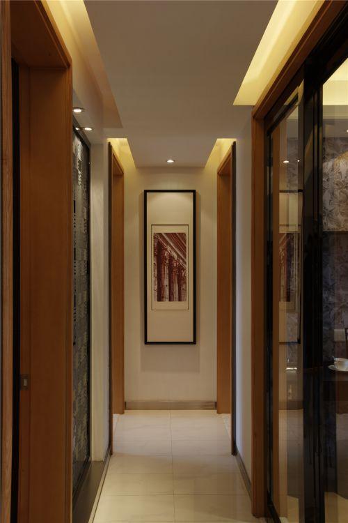 现代简约二居室玄关壁纸装修效果图大全