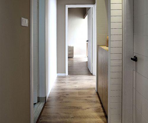 现代简约二居室玄关走廊装修效果图欣赏