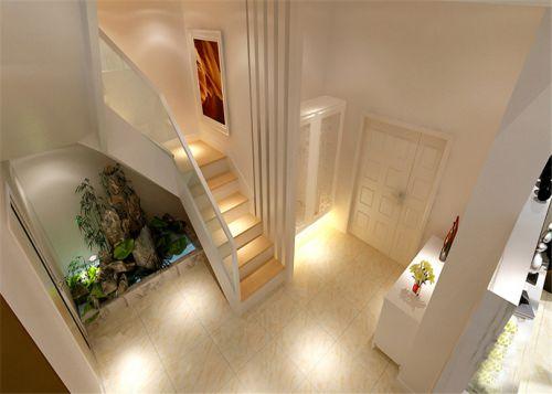 现代简约五居室玄关壁纸装修效果图大全
