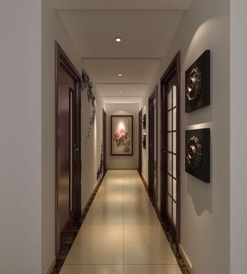 现代简约四居室玄关装修图片