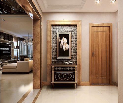 现代简约二居室玄关鞋柜装修效果图大全