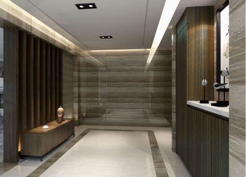 现代简约五居室玄关走廊装修效果图欣赏
