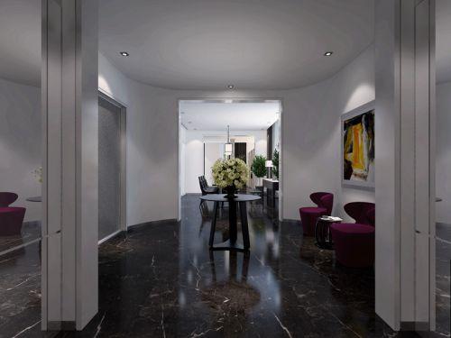 现代简约五居室玄关楼梯装修效果图欣赏
