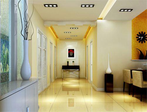 现代简约二居室玄关楼梯装修效果图欣赏