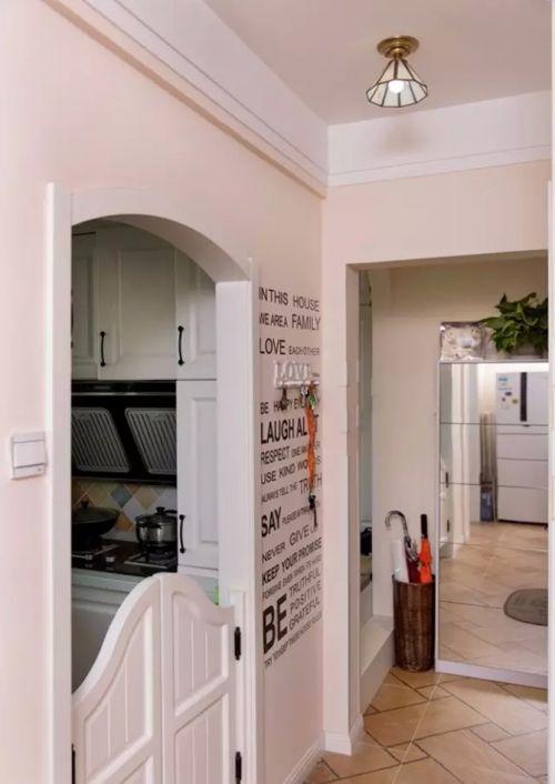 现代简约二居室玄关走廊装修效果图大全