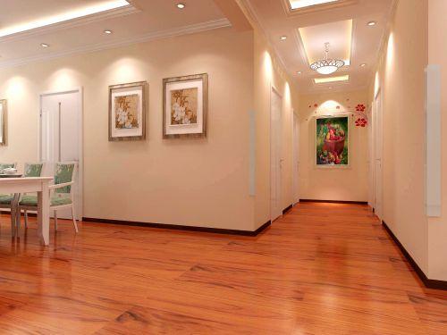 现代简约四居室玄关装修效果图欣赏