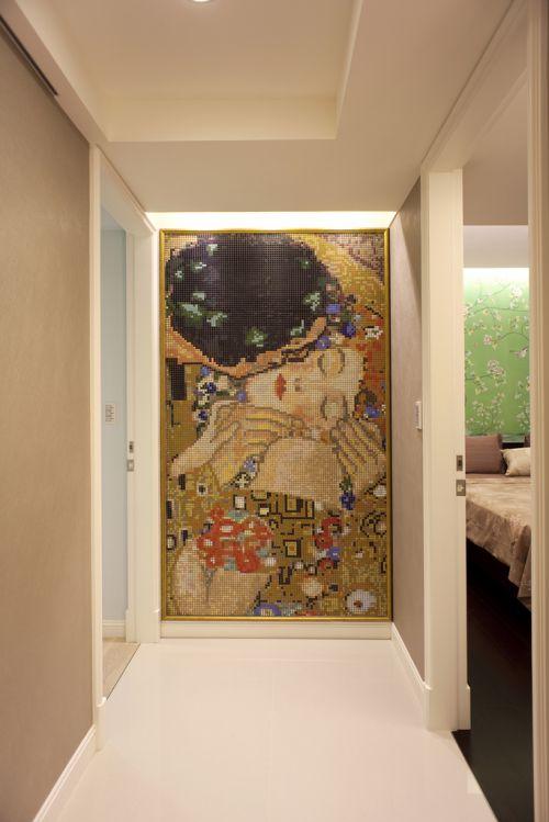 奢华后现代风格三居室玄关装修图片