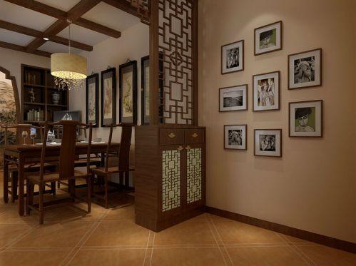 现代简约三居室玄关瓷砖装修效果图大全