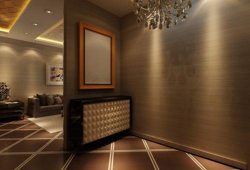 后现代三居室玄关装修效果图大全