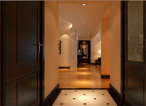 现代简约四居室玄关装修图片欣赏