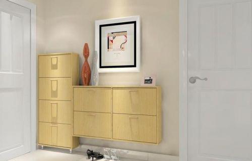 现代简约三居室玄关鞋柜装修效果图大全