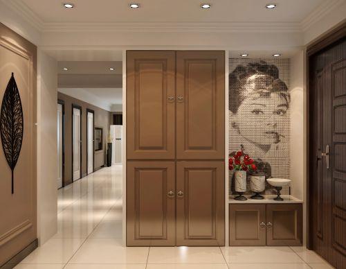 现代简约一居室玄关装修效果图大全