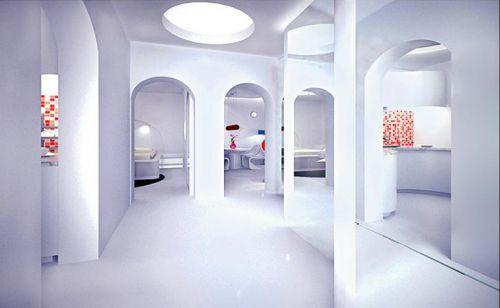 现代简约一居室玄关装修图片欣赏