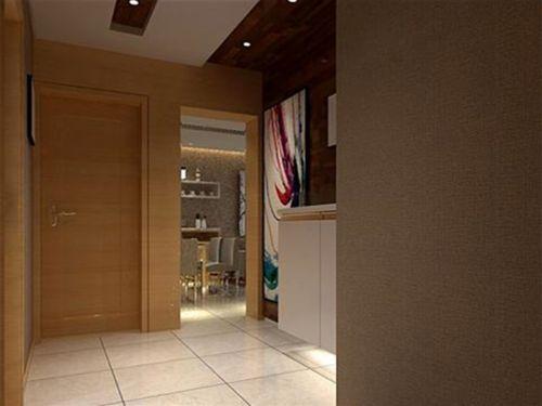 现代简约一居室玄关装修效果图