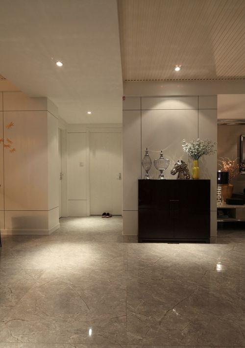 现代简约三居室玄关装修效果图欣赏
